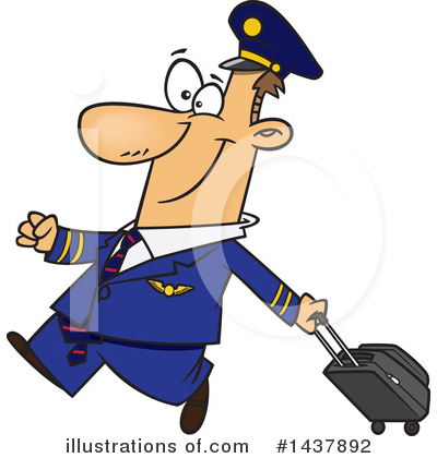 Pilot Clipart #1437892 by toonaday