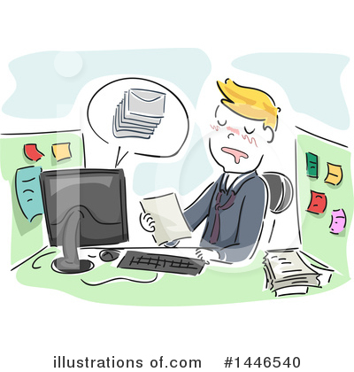 Office Clipart #1446540 by BNP Design Studio