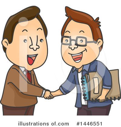 Business Team Clipart #1446551 by BNP Design Studio