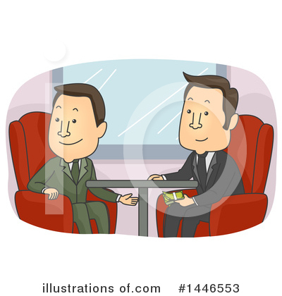 Business Man Clipart #1446553 by BNP Design Studio