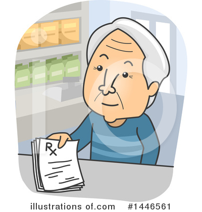 Senior Citizen Clipart #1446561 by BNP Design Studio