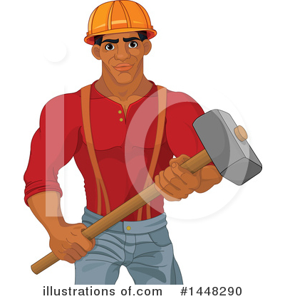 Worker Clipart #1448290 by Pushkin