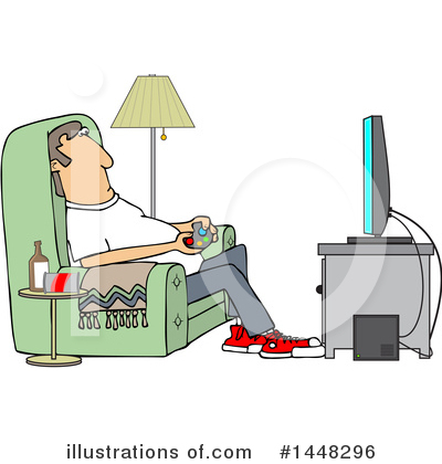 Television Clipart #1448296 by djart