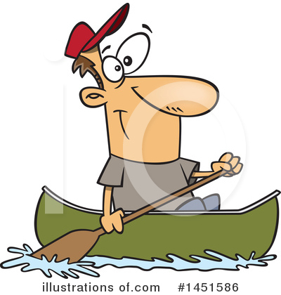 Canoe Clipart #1451586 by toonaday