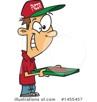 Food Delivery Clipart #1455457 by toonaday