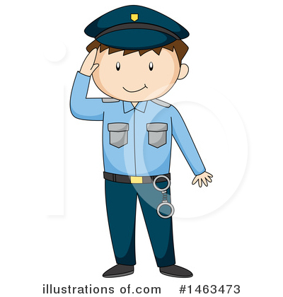 Policeman Clipart #1463473 by Graphics RF