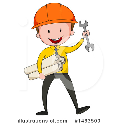 Engineer Clipart #1463500 by Graphics RF