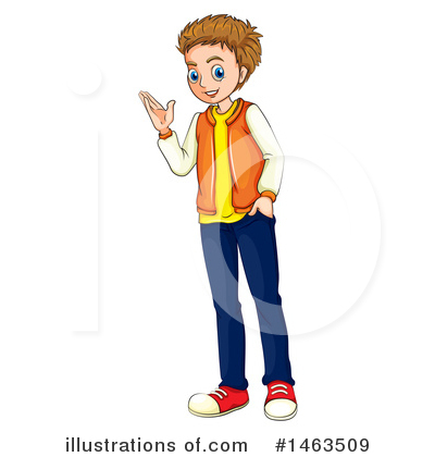 Teenager Clipart #1463509 by Graphics RF