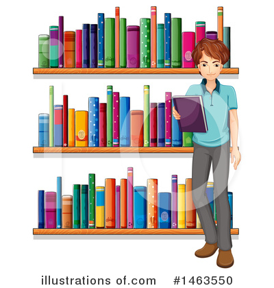 Librarian Clipart #1463550 by Graphics RF