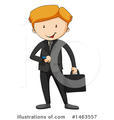 Businessman Clipart #1463557 by Graphics RF