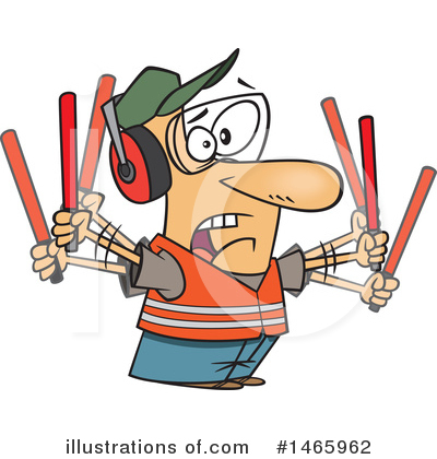 Royalty-Free (RF) Man Clipart Illustration by toonaday - Stock Sample #1465962