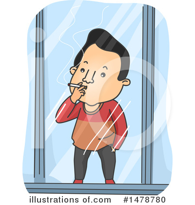 Smoking Clipart #1478780 by BNP Design Studio