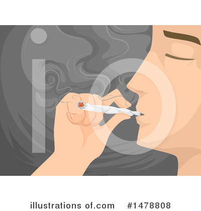 Smoking Clipart #1478808 by BNP Design Studio