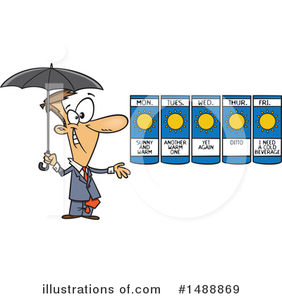 Umbrella Clipart #1488869 by toonaday