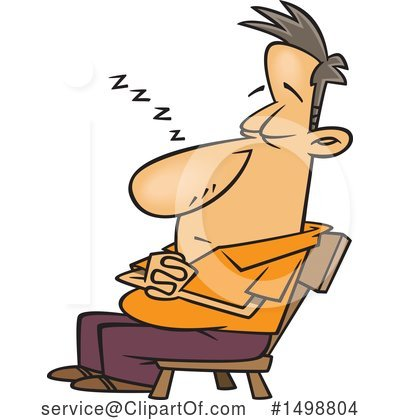 Tired Clipart #1498804 by toonaday