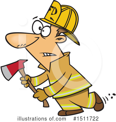 Fireman Clipart #1511722 by toonaday