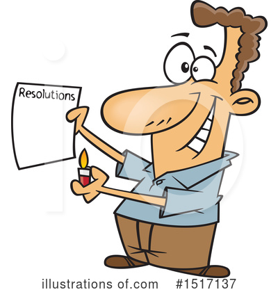 Royalty-Free (RF) Man Clipart Illustration by toonaday - Stock Sample #1517137