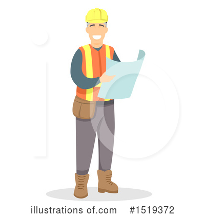 Construction Worker Clipart #1519372 by BNP Design Studio