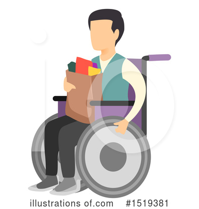 Wheelchair Clipart #1519381 by BNP Design Studio