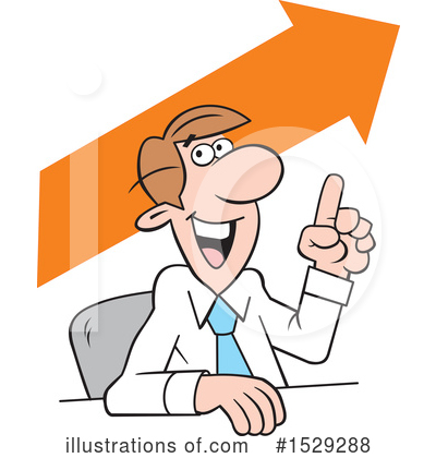 Business Man Clipart #1529288 by Johnny Sajem