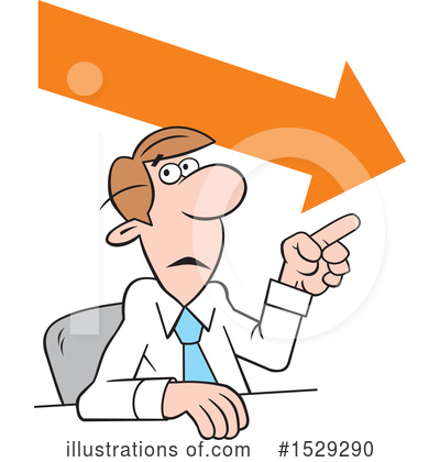 Business Man Clipart #1529290 by Johnny Sajem