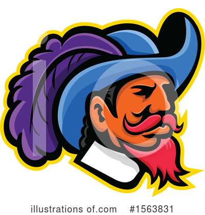 Musketeer Clipart #1563831 by patrimonio