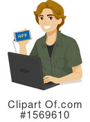 Man Clipart #1569610 by BNP Design Studio