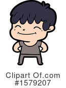 Man Clipart #1579207 by lineartestpilot