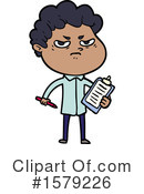 Man Clipart #1579226 by lineartestpilot
