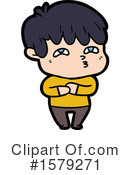 Man Clipart #1579271 by lineartestpilot