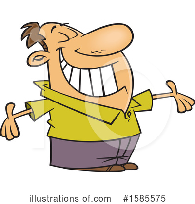 Man Clipart #1585575 by toonaday