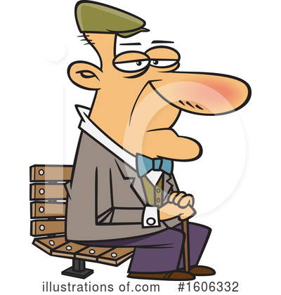 Royalty-Free (RF) Man Clipart Illustration by toonaday - Stock Sample #1606332