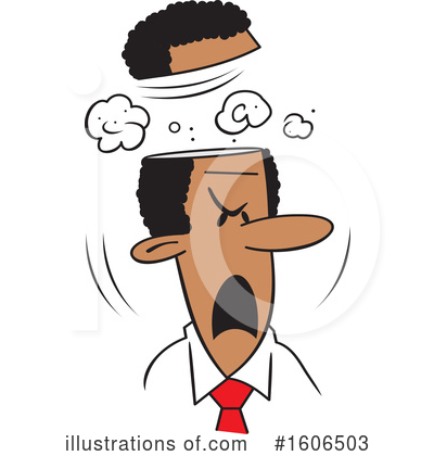 Business Man Clipart #1606503 by Johnny Sajem