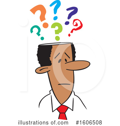Business Man Clipart #1606508 by Johnny Sajem