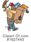 Man Clipart #1627443 by toonaday