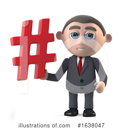 Businessman Clipart #1638047 by Steve Young