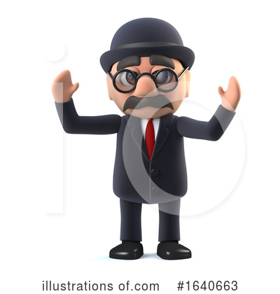 Gentleman Clipart #1640663 by Steve Young