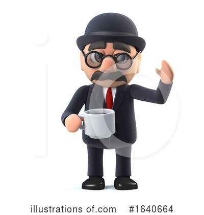 Gentleman Clipart #1640664 by Steve Young