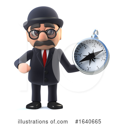 Gentleman Clipart #1640665 by Steve Young