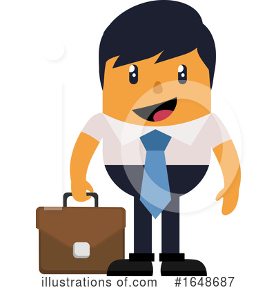 Business Man Clipart #1648687 by Morphart Creations
