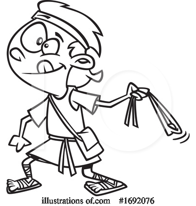 Royalty-Free (RF) Man Clipart Illustration by toonaday - Stock Sample #1692076