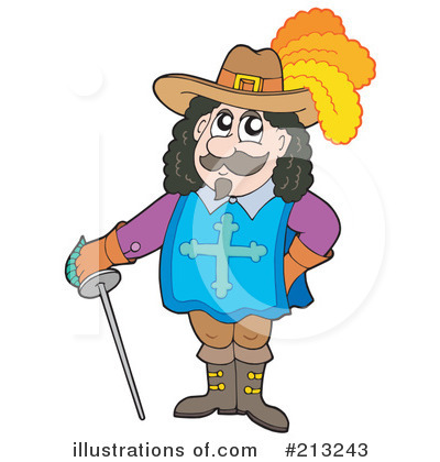 Royalty-Free (RF) Man Clipart Illustration by visekart - Stock Sample #213243