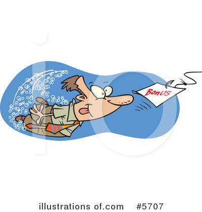 Royalty-Free (RF) Man Clipart Illustration by Ron Leishman - Stock Sample #5707
