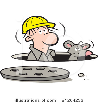 Manhole Clipart #1204232 by Johnny Sajem