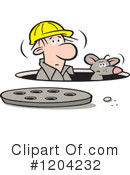Royalty-Free (RF) Man Hole Clipart Illustration #1204232