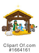 Manger Clipart #1664161 by AtStockIllustration
