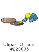 Manhole Clipart #220096 by Leo Blanchette