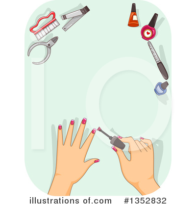 Fingernails Clipart #1352832 by BNP Design Studio