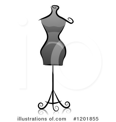 Mannequin Clipart #1201855 by BNP Design Studio