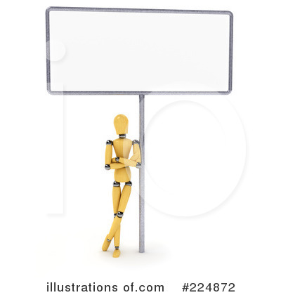 Billboard Clipart #224872 by stockillustrations